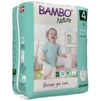 Chiloței Ecologici Bambo Nature Pants, Nr. 4 (7-14 kg), 20 buc.
