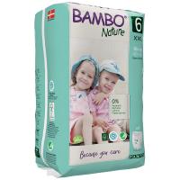 Chiloței Ecologici Bambo Nature Pants, Nr. 6 (18 kg+), 18 buc.