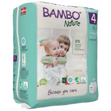 Scutece Ecologice Bambo Nature Maxi, Nr. 4 (7-14 kg), pachet 24 buc.