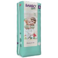 Scutece Ecologice pentru copii Bambo Nature Maxi, Nr. 4 (7-14 kg), pachet 48 buc.