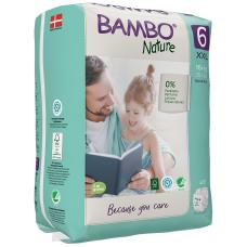 Scutece Ecologice pentru copii, Bambo Nature, Nr. 6 (16+ kg), pachet 20 buc.