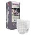 Scutece Ecologice tip chiloțel pentru copii cu vârste între 4-7 ani (15-35 kg), model adaptat pentru Fetițe, 10 buc.